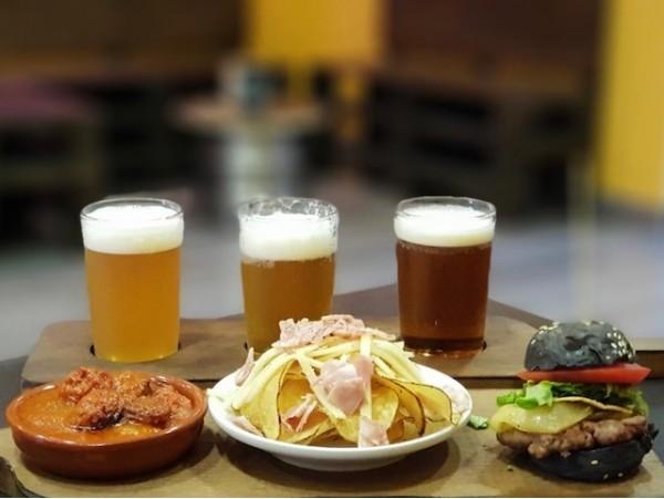 Degustación de tapas y selección de cervezas
