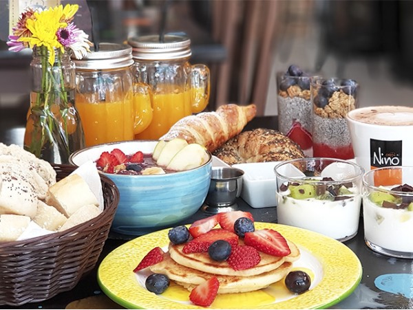 Delicioso Brunch 100% natural y saludable para 2 personas
