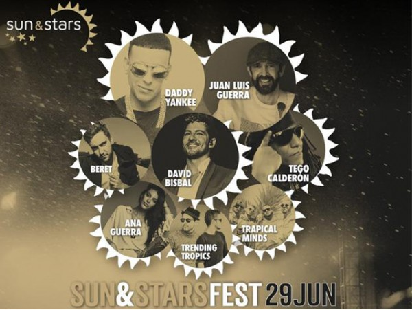 Entrada al festival Sun & Stars en grada