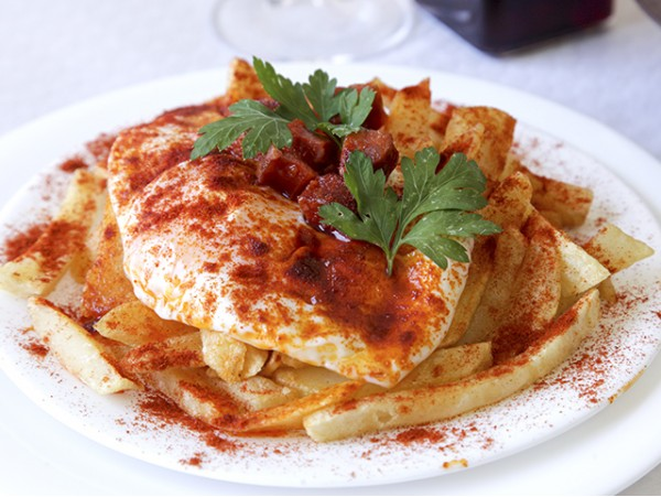 Menú canario para 2 personas con 6 platos en Santa Úrsula