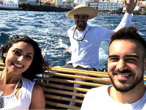 Travesía en barco pesquero para 2 personas con snacks y bebidas en el Puerto de la Cruz