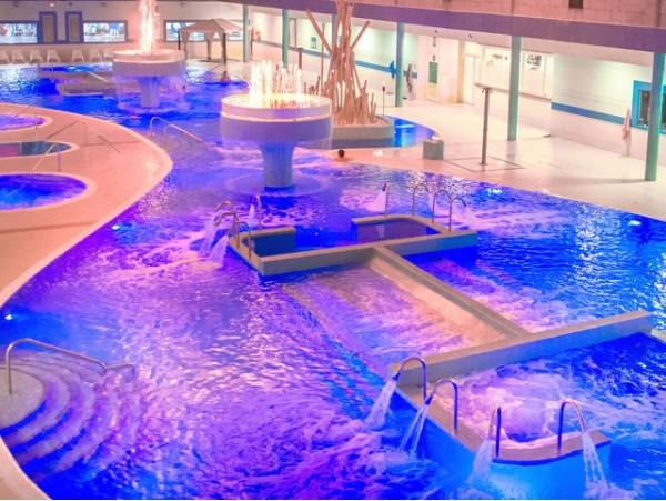 Acceso al circuito spa del Aqua Club Termal