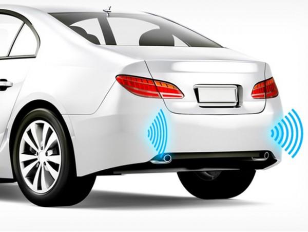 4 sensores de parking traseros con instalación