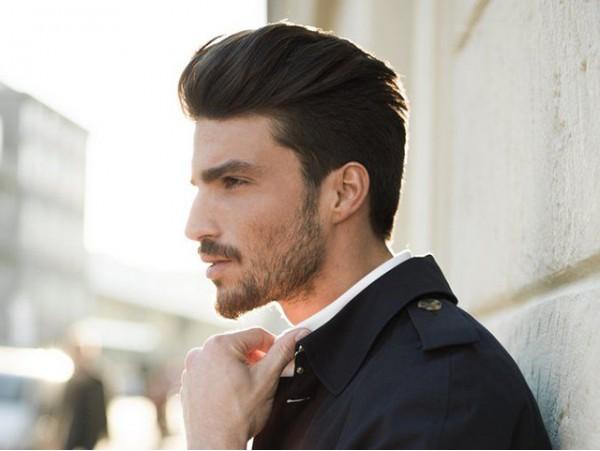 Corte de pelo para chico con arreglo de barba y cejas