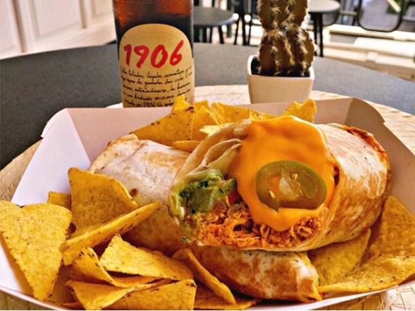 Menú mexicano para 2 con margaritas