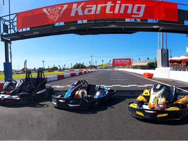 2 tandas de 10 minutos en Karting Las Américas