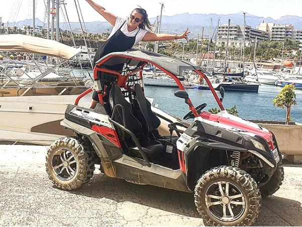 Experiencia en Buggy por el sur de Tenerife