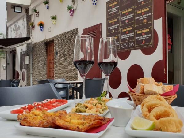 Auténtico menú andaluz para 2 con bebidas en Venta La Bulería