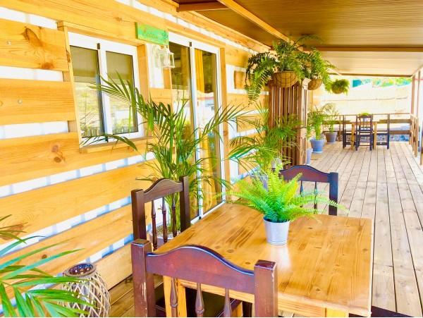 Estancia para 4 en casita con bañera climatizada exterior + desayuno + cava y cesta de fruta