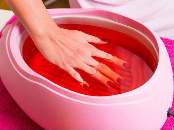 Tratamiento de parafina para manos y pies