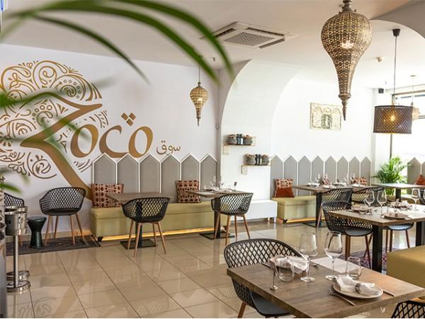 Menú de cocina árabe para 2 en Zoco Restaurant