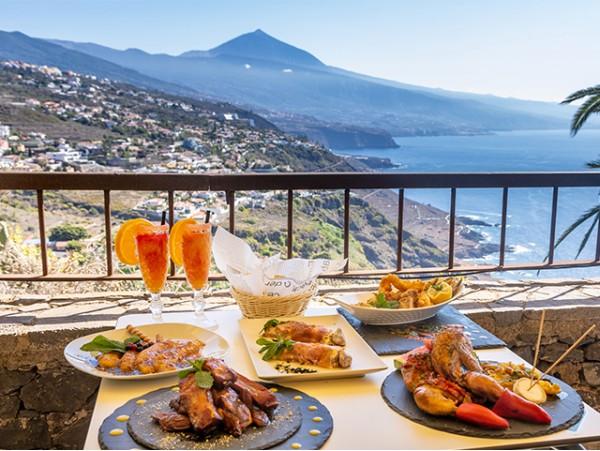 Almuerzo para 2 en El Sauzal con las mejores vistas