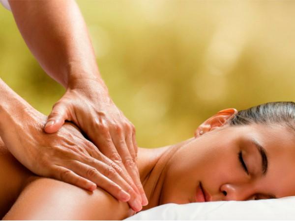 Sesión de masaje corporal a elegir