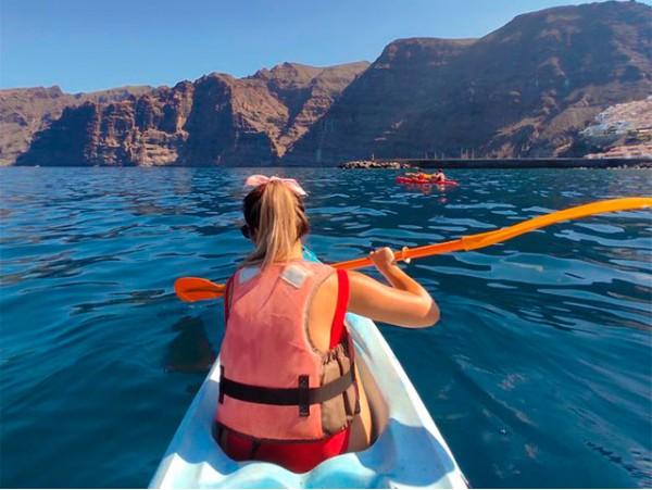 Alquiler de kayak para 2 en Los Gigantes