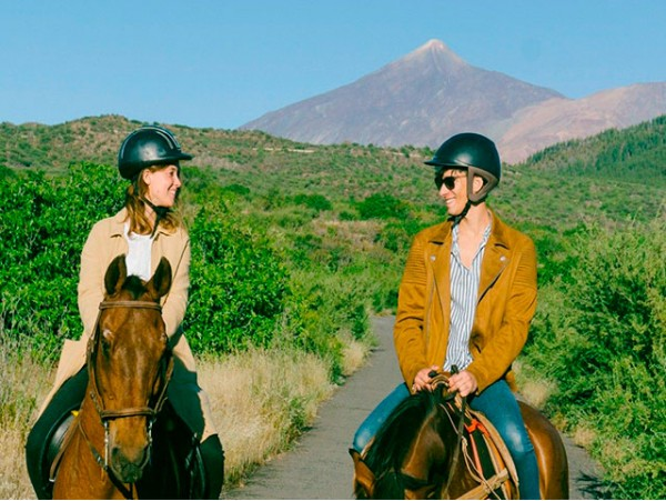 Ruta a caballo con opción a picnic en Santiago del Teide