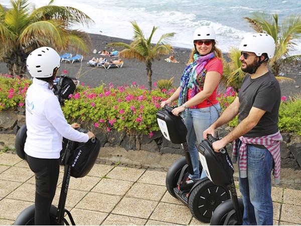 Tour guiado de 1 hora en Segway por el Puerto de La Cruz