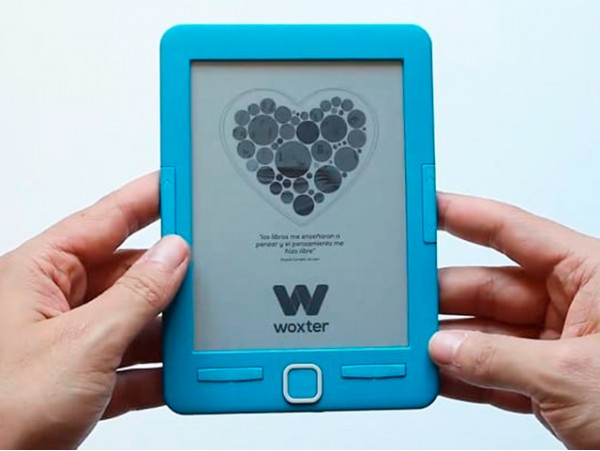"eBook - Woxter Scriba 195, 4 GB capacidad, 6"", 2000 libros"